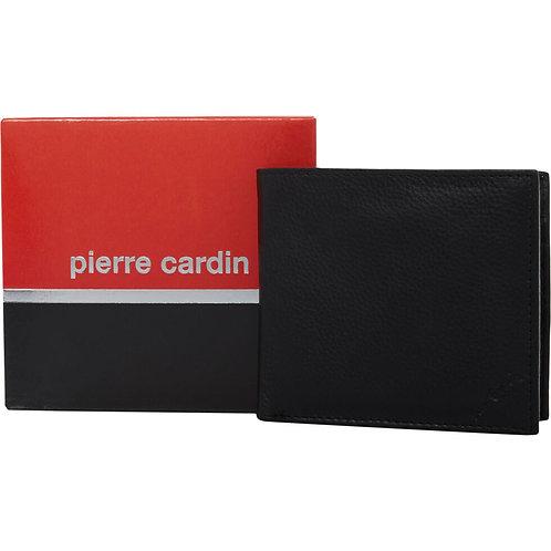 PIERRE CARDIN Black Leather Wallet