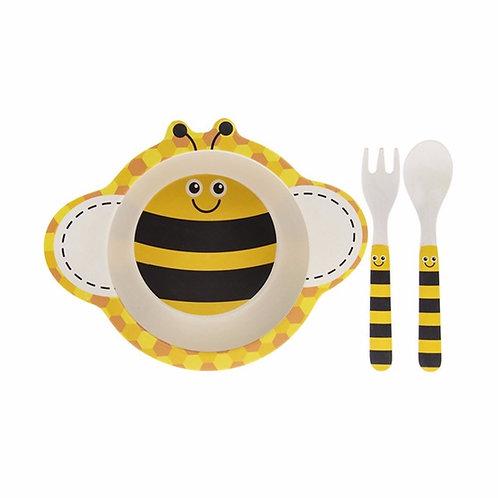 Bumble Bee Kids 3pc Eating Set
