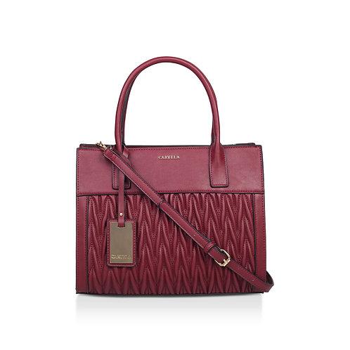 CARVELA Wine 'Megan Rouch Tote' tote bag RED