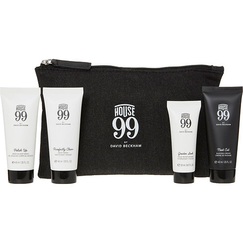 HOUSE 99 BY DAVID BECKHAM Travel Toiletries Pouch 140ml