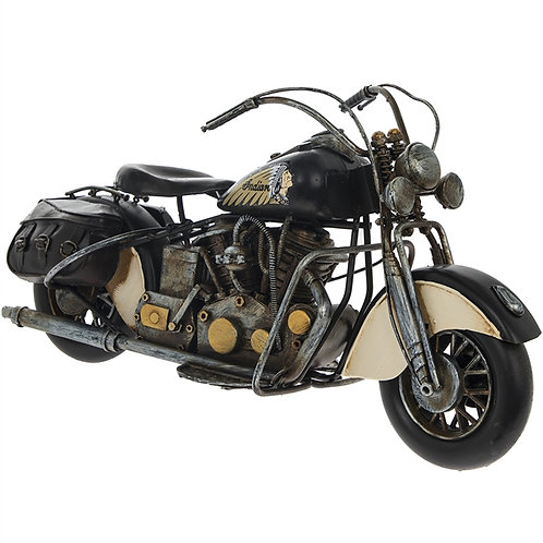 Rustic Motorbike Collectors Ornament I
