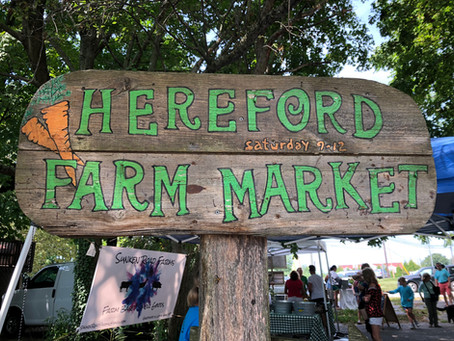 Support good, local business at the Hereford Farmers Market!