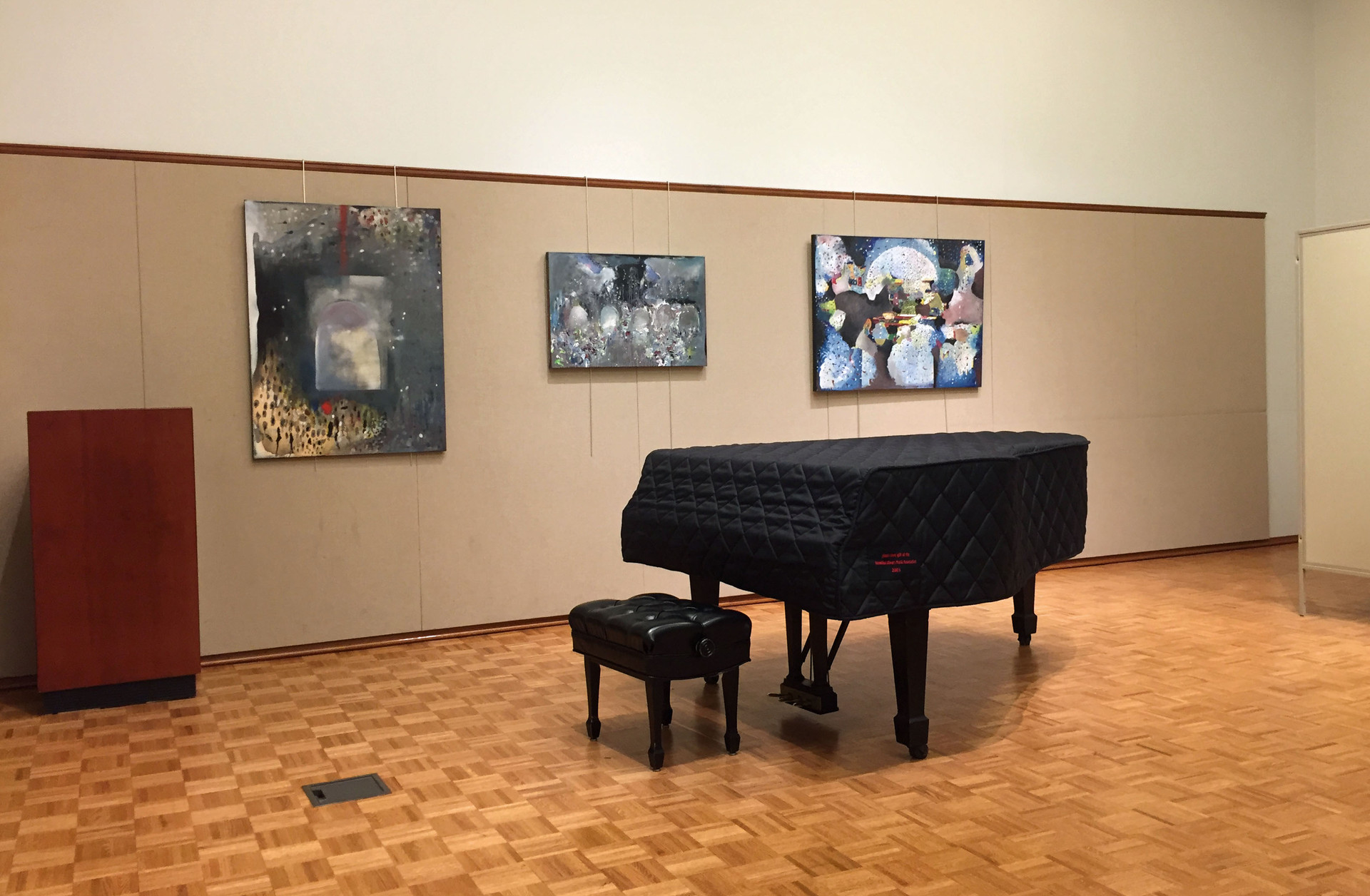 Solo Show at Brookline Public Library