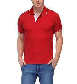 Polo Tshirt With Tipping