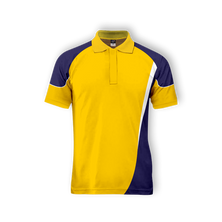 GOLDEN YELLOW CUSTOMISED  POLO T SHIRT