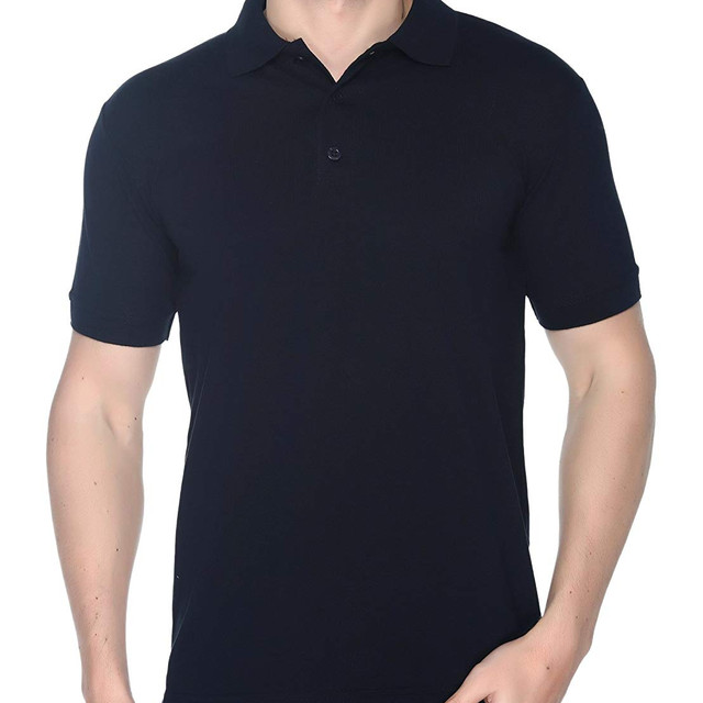 Navy Plain Polo T shirt