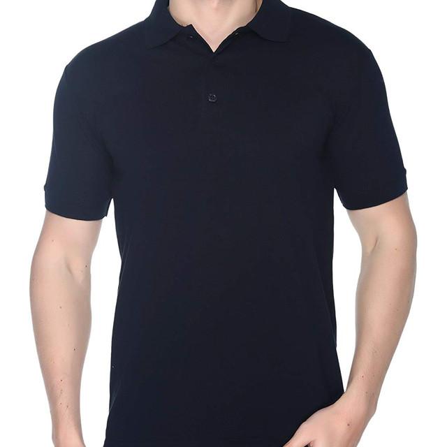 Navy Plain Polo T shirt