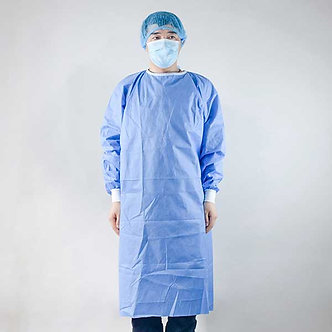 Isolation gown disposable AAMI Level 3