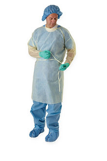 ISOLATION GOWN DISPOSABLE REG/LRG SIZE LF