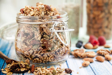 Granola, Baked Bars, Baked Inclusions