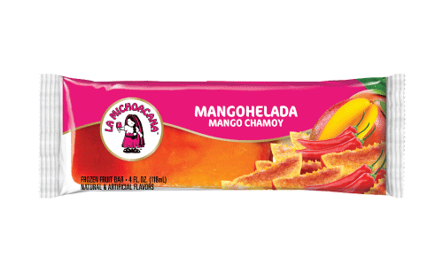 Our MangoHelada paleta is tiaapproved! The fresh, sweet taste of mango partners perfectly with the spiciness of Chamoy. A traditional #paleteriaexperience duoyou will want to keep reliving contufamilia over, and over, and you get the point.
