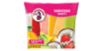 Our variety packs are just that, a variety of paletas that are excited to bring the paleteria experience to your home. All of our paletas are flavorful so you can't go wrong with any mix.