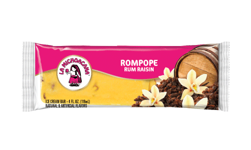 Rompope is traditionally reserved for the holidays, but thanks to our Rum Raisin paleta you can say cheers all year.