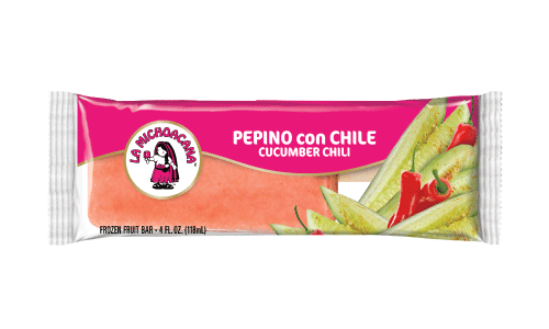Cucumber and chile is an authentic and traditional paleteria must-have combo, refresh yourself with our cool and spicy paleta on any given day.
