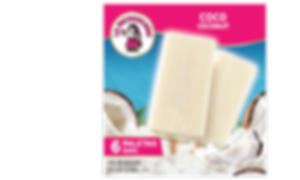 Be transported to your own personal tropical getaway every time you snack on our Coco paletas. Crafted with shredded coconut and creamy ice cream, our Coco paletas are sure to satisfy at home or on-the-go.