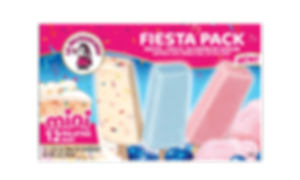 Mini Paletas are kid, snack, and party friendly; just ask our fiesta pack! It's loaded with sprinkled birthday cake paletas, fun cotton candy paletas and the irresistible bubble gum paletas.