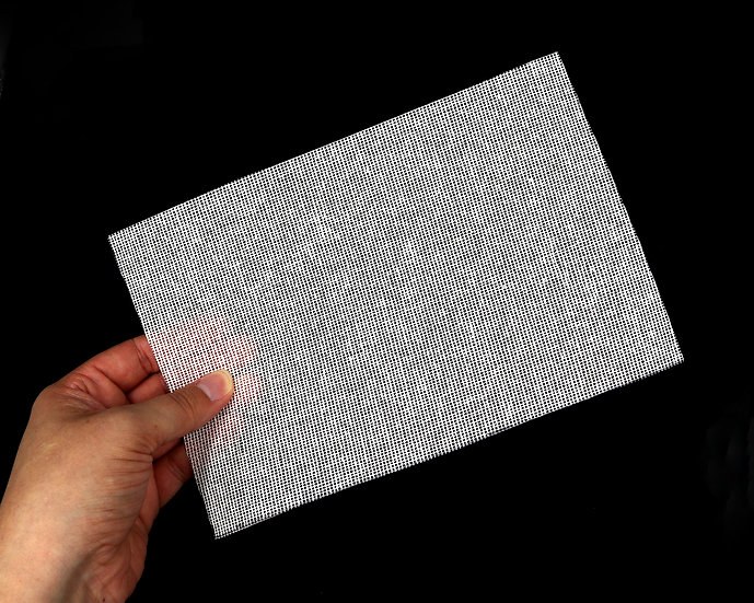 BUCKRAM VISION MESH FOR MASCOT COSTUMES, FURSUITS, MASKS, AND MORE 6'' X 9''