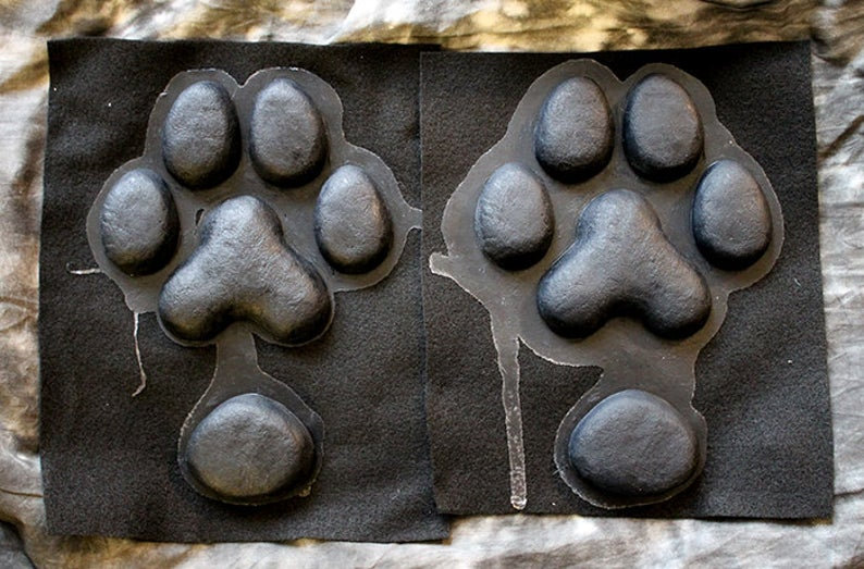 SILICONE CANINE FEET PAW PADS