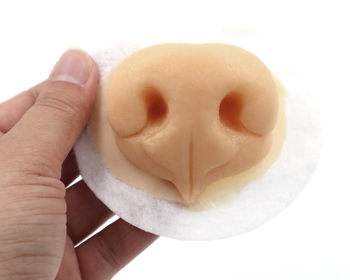 REALISTIC SILICONE GENERIC CANINE NOSE