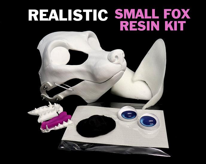 (( KIT )) REALISTIC SMALL FOX RESIN BASE