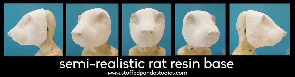 REALISTIC RAT RESIN BASE