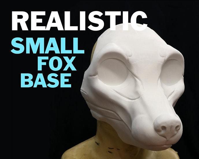 REALISTIC SMALL FOX RESIN BASE