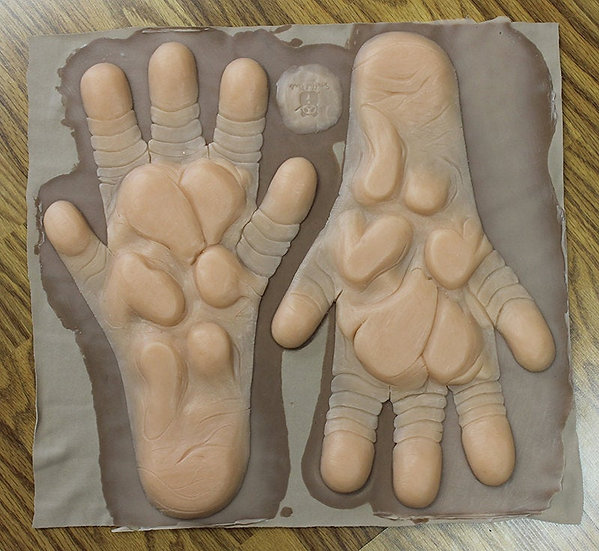 SILICONE RAT FEET PAW PADS
