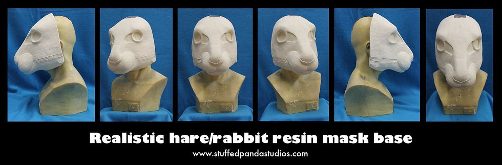 REALISTIC HARE RESIN BASE