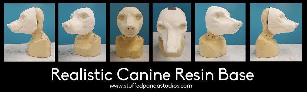 REALISTIC GENERIC CANINE RESIN BASE