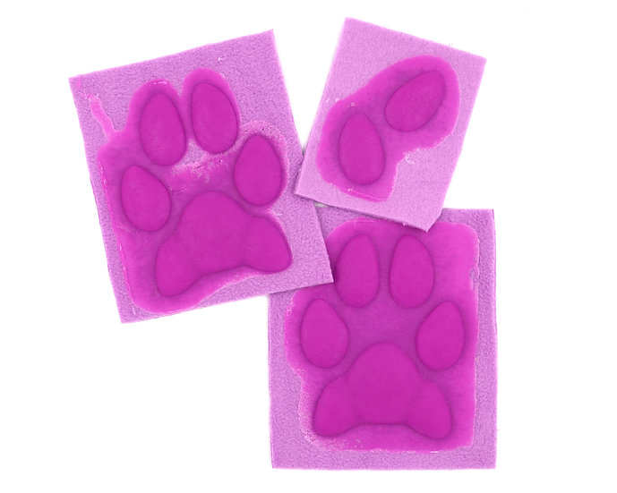 SILICONE THIN CANINE HAND PAW PADS
