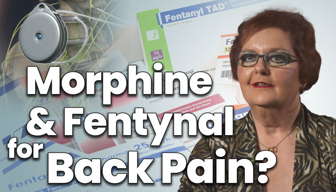 Grandmother is pain free after nine failed back surgeries
