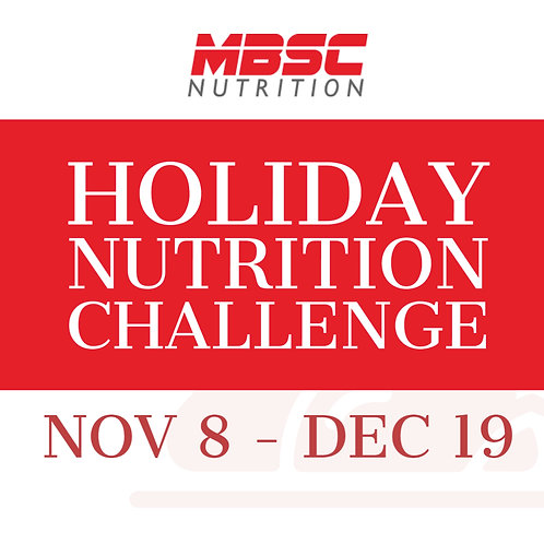 Holiday Nutrition Challenge