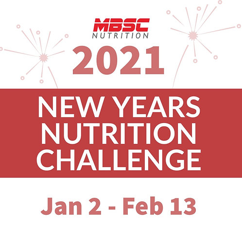New Year's Nutrition Challenge
