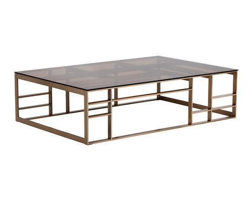 The Stunning Design Of This Oversized Rectangular Coffee Table From Our Kandis Collection Captures Essence Contemporary Cl