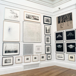 Royal West of England Academy Open Exhibition - work in situ