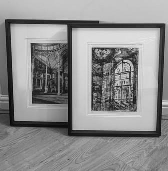 Framed Etchings