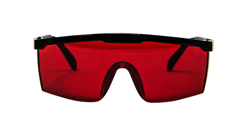 LED-PROTECTIVE SAFETY GLASSES
