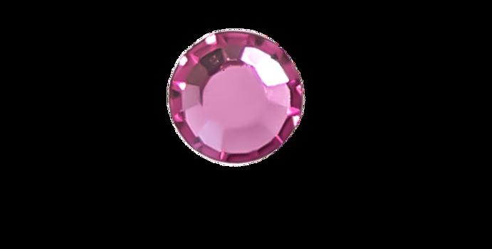 Pink swarovski crystal, pink tooth gem, tooth crystal