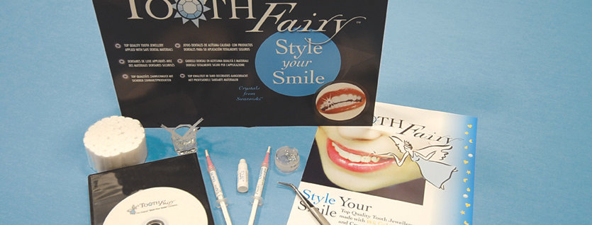 PROMOTIONAL TOOTH CRYSTAL STARTER KIT