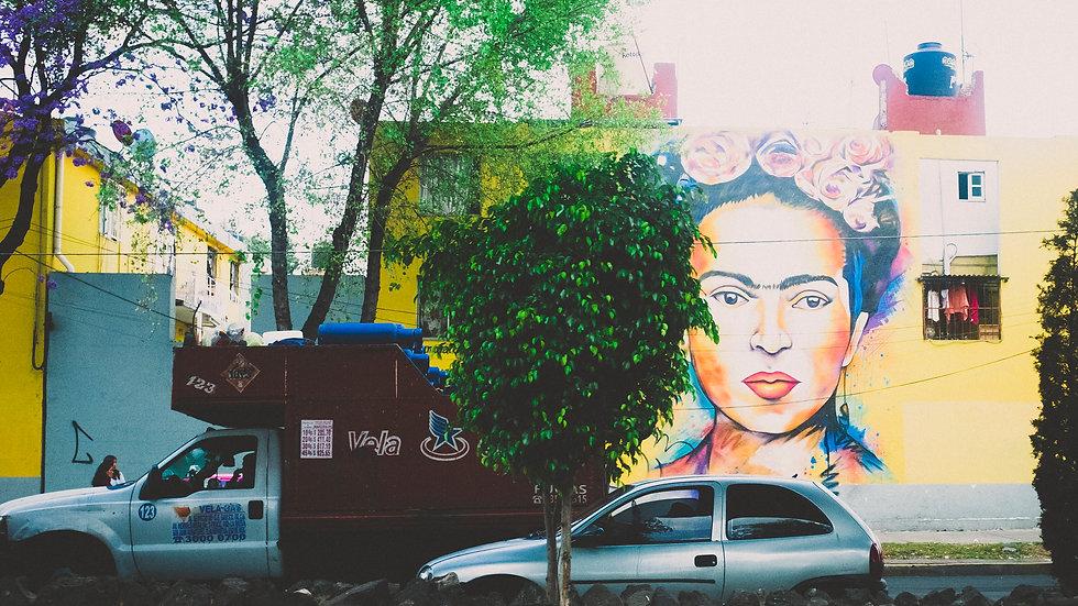 Frida, Mexico City
