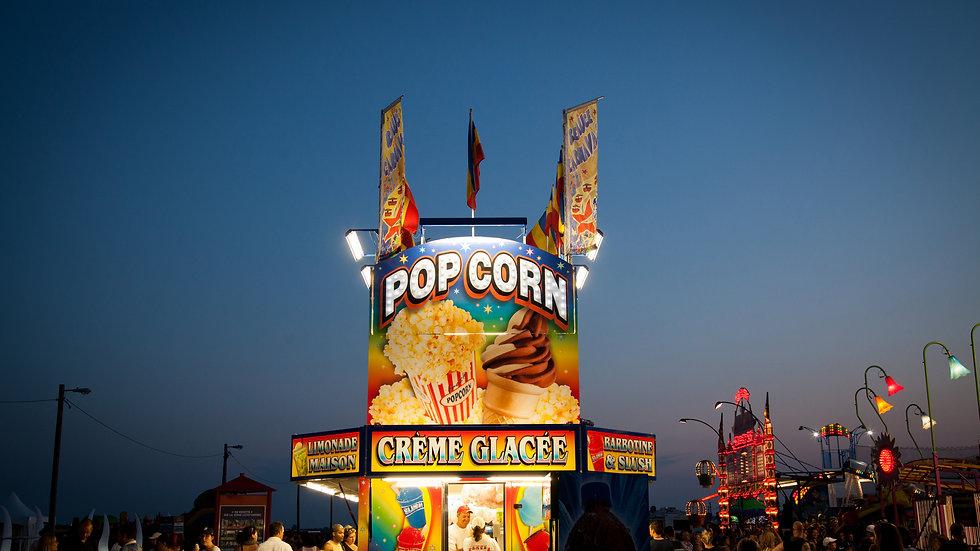 Popcorn, Quebec