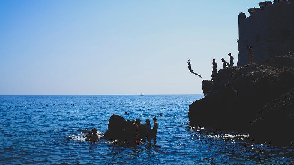 Jump, Dubrovnik