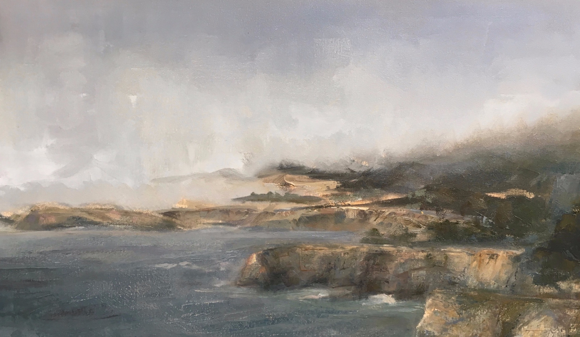 24 x 36 Oil on canvas Sold Private collection, The Sea Ranch, CA