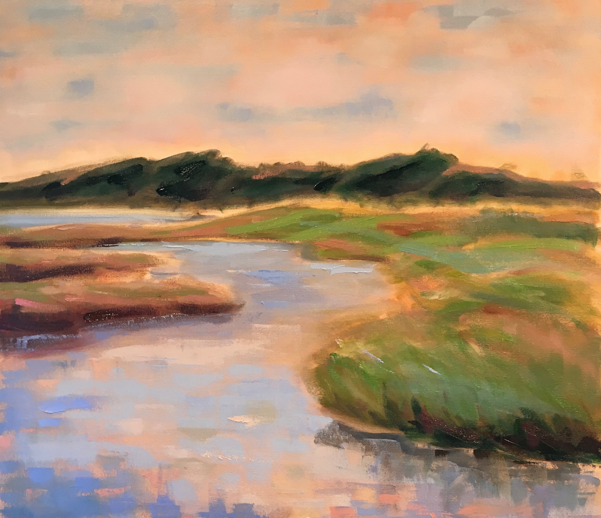 30 x 40 Oil on canvas Private collection Newburyport, MA