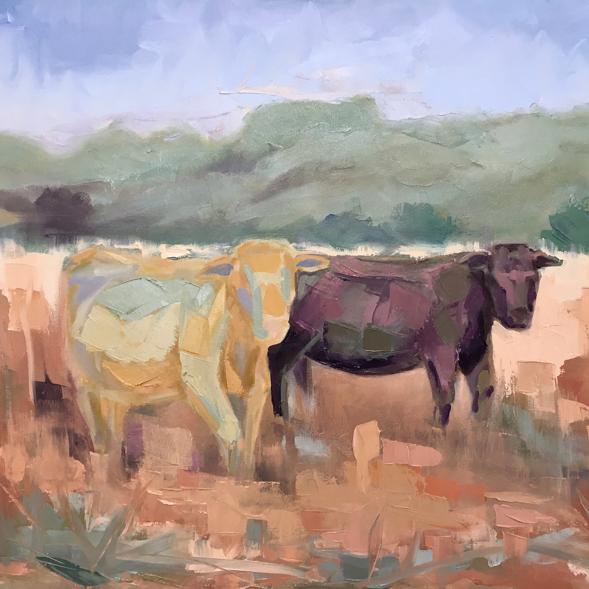 30 x 40 Oil on canvas  Private collection Mill Valley, CA