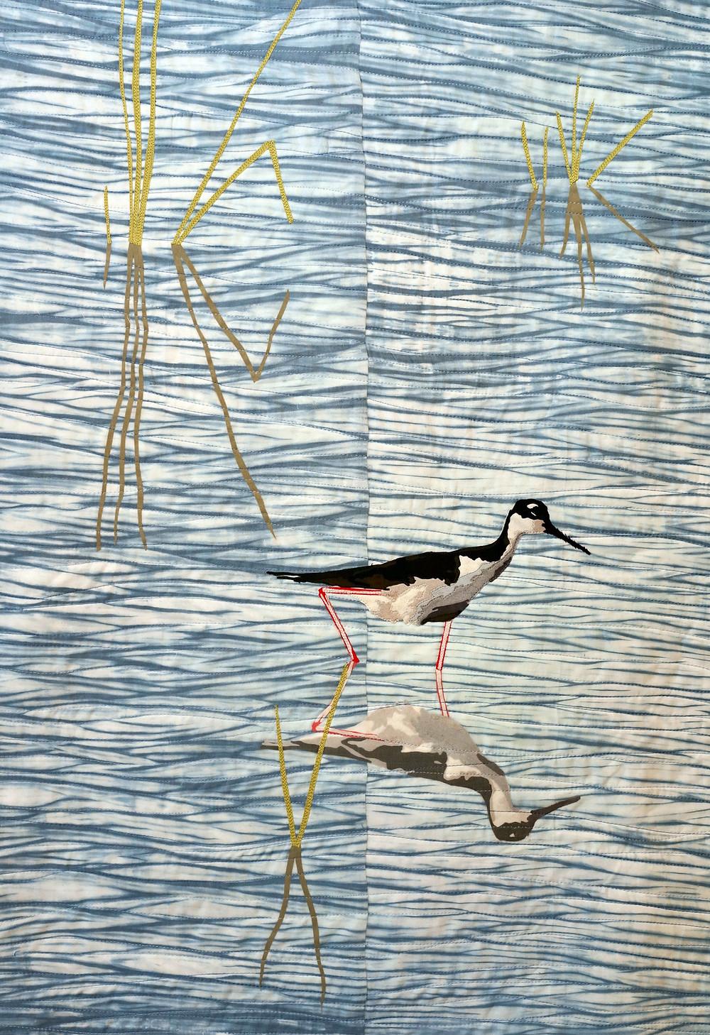 """Wild Life: Wetlands ©2018, 36"""" x 24"""""""