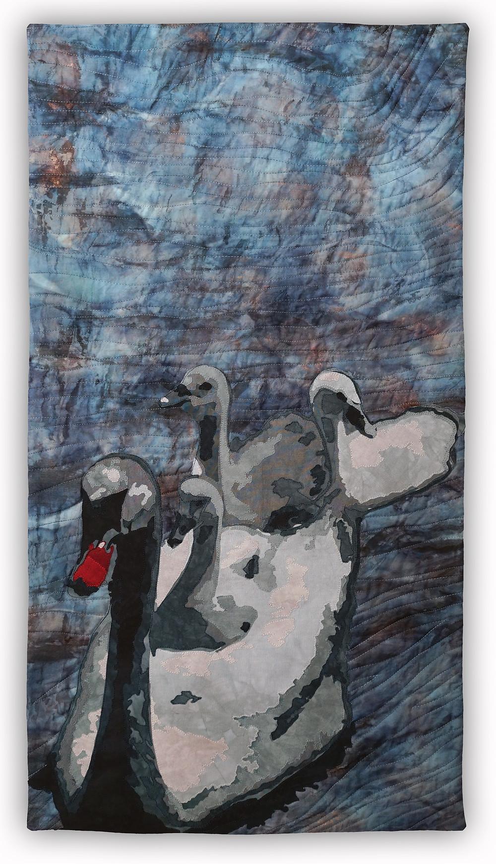"Wild Life: Supply Pond ©2017, 18"" x 36"""