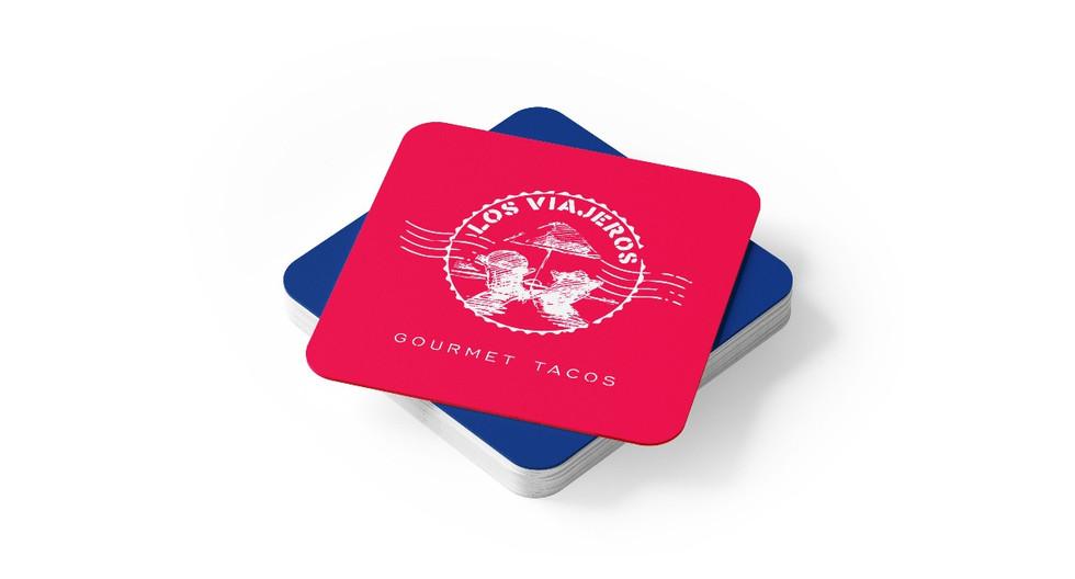 Los Viajeros Gourmet Tacos Coasters