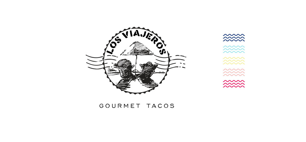 Los Viajeros Logo Art