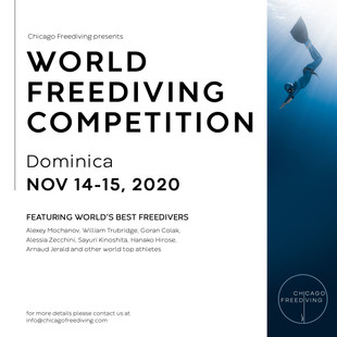 Chicago Freediving Competition Flyer